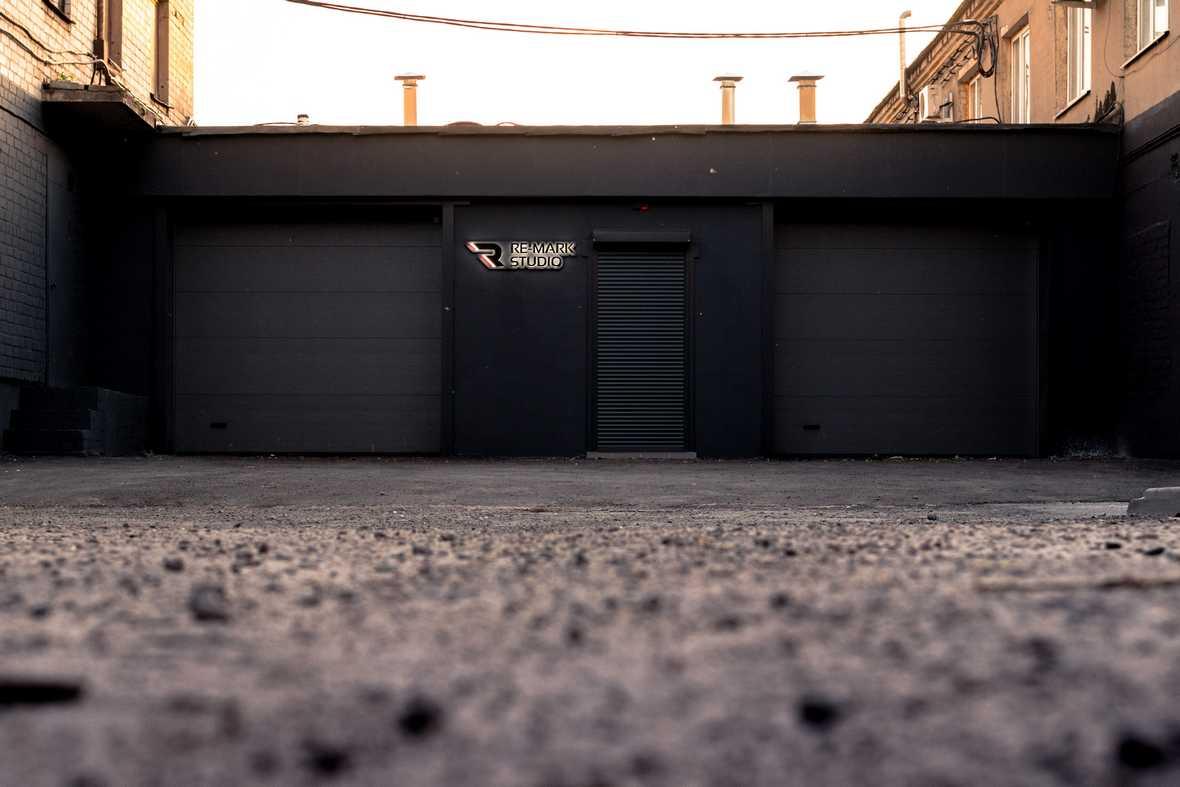Как выглядит здание детейлинга «Re-Mark Studio»