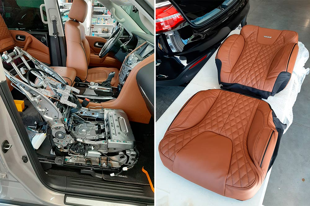 Смотреть фото – как установить кресло MBS Active Smart Seat своими руками.